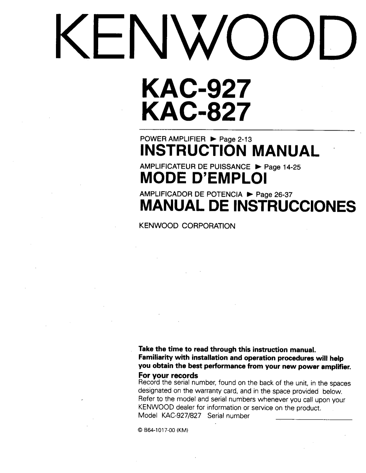 Bestseller  Amplifier Workshop Manual