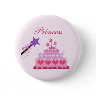 Princess Cake and Wand button
