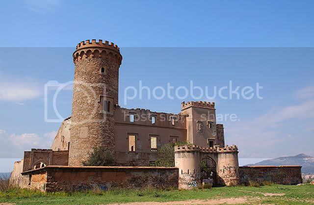 Castles: Salvana Tower at Santa Coloma de Cervellò