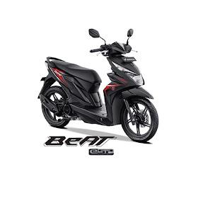 Sketsa Motor Beat Karbu