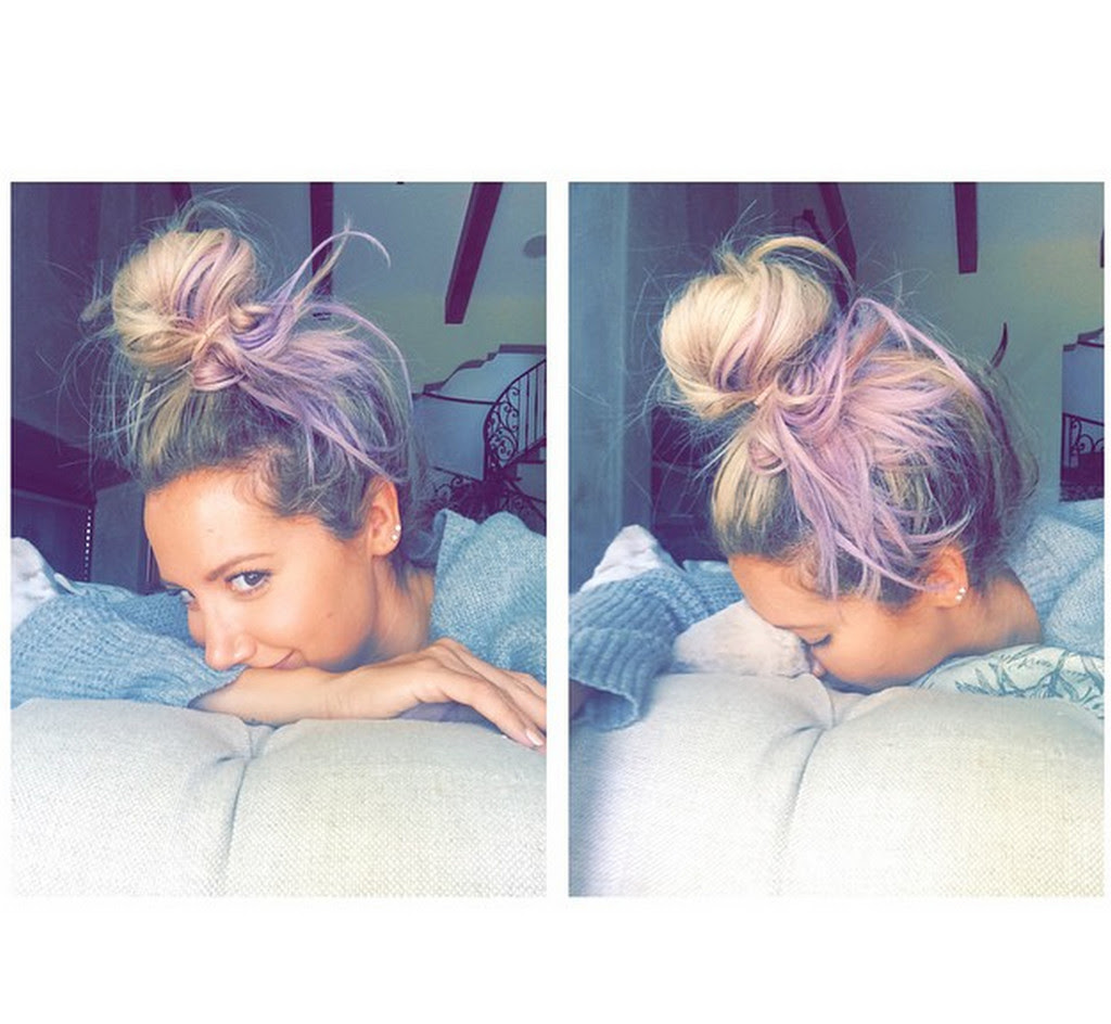 Ashley Tisdale is Lovely in Lavender, Shailene Woodley Goes Blonde and More