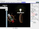 Screenshot of the simulation Γεννήτρια