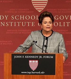 A presidente Dilma Rousseff. Foto: Reprodução/AE