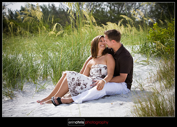 fort desoto engagement picture