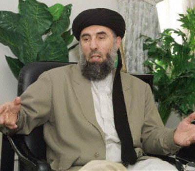 Gulbuddin Hekmatyar a notorious warlord in Afghanistan