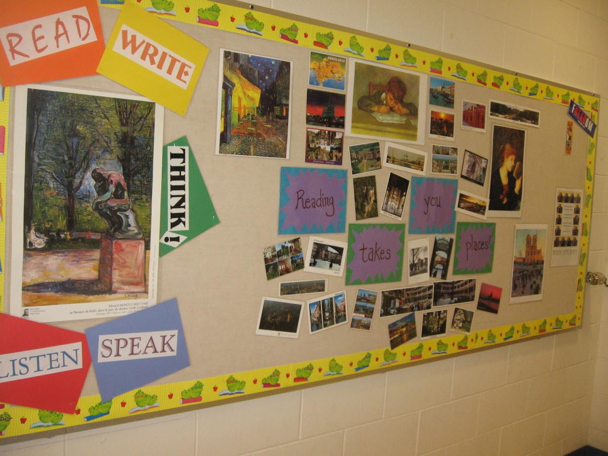 High School English Classroom Decorations