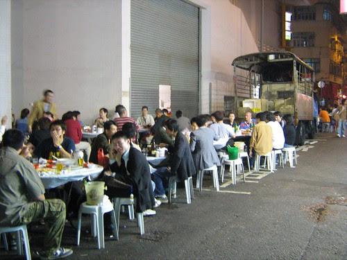 Roadside stalls in Hong Kong 2