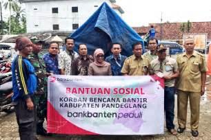 kegiatan sosial bank banten bank pembangunan daerah