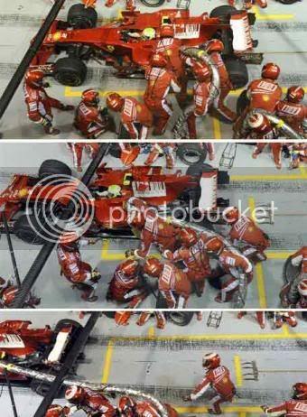 Desastre Ferrari GP Singapur 2008