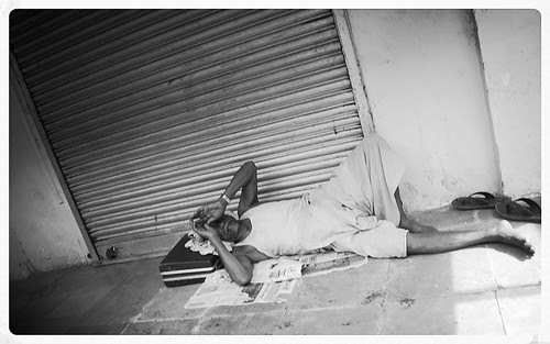 Even were sleep is concerned, too much is a bad thing. Homer by firoze shakir photographerno1