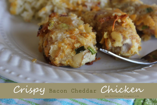 Crispy Bacon Cheddar Chicken