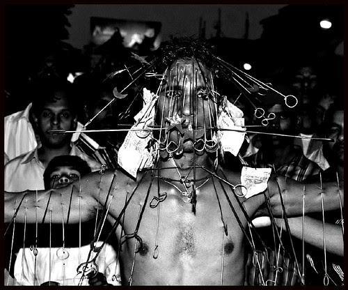 Human Pin Cushion by firoze shakir photographerno1