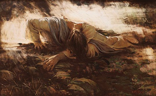 Agony in The Garden - The First Sorrowful Mystery — John C Sweet
