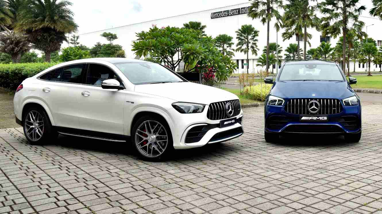 The GLE 63 S 4MATIC Coupe is the most powerful SUV Mercedes-Benz sells in India at present. Image: Mercedes-Benz
