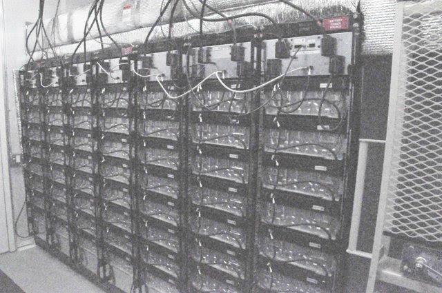Reynolds Landing microgrid battery bank