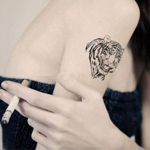 21 Tiger Tattoo Ideas For Ladies Obsigen