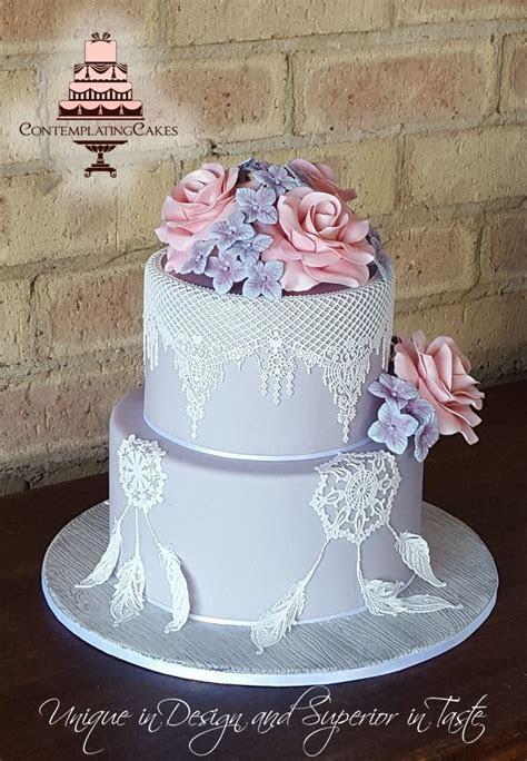 Wedding Dream Catcher cake   Dream Catcher Wedding cake #