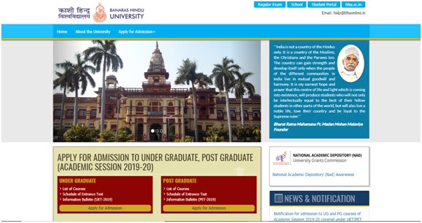 Bhu Application Form 2017 For Law, Guidline01, Bhu Application Form 2017 For Law
