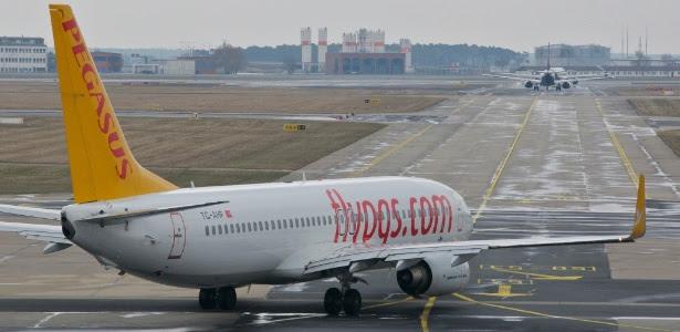 A confusão aconteceu durante um voo da companhia Pegasus Airlines
