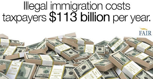 illegal immigration costs $113 billion