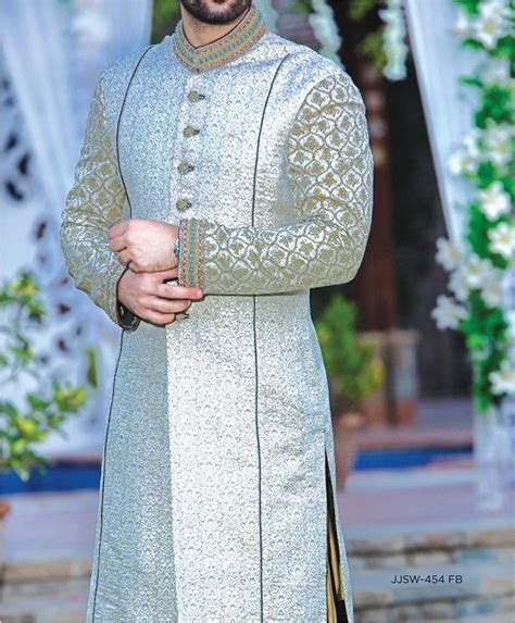 J. Latest Men Sherwanis Designs 2018 19 Groom Wedding
