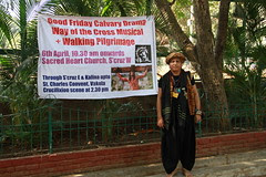 I Come To Sacred Heart Church To Shoot Good Friday 14 Stations of the Cross by firoze shakir photographerno1