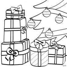 Colorear Dibujos Regalos De Navidad 15 Imagenes Navidenas Para