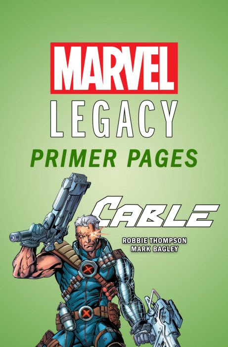Cable - Marvel Legacy Primer Pages #1