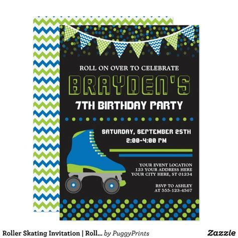 9 best Roller Skating Birthday Party images on Pinterest