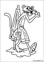 Ausmalbilder von Der Rosarote Panther zum Drucken
