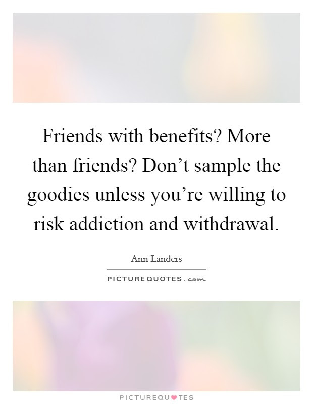 Friends With Benefits More Than Friends Dont Sample The