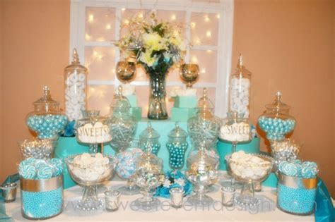 Blue Candy Buffets   Bitsy Bride