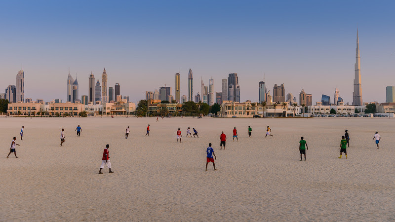 2012 Pic(k) of the week 47: Dubai Beach Football