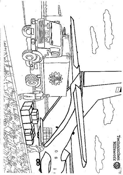 playmobil thw ausmalbilder - coloring ideas for kids