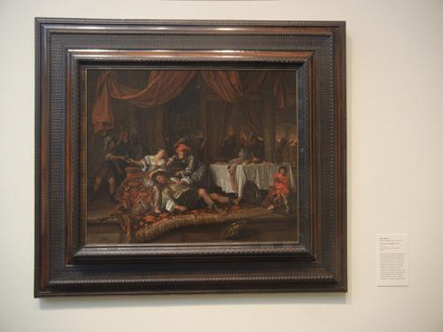 DSCN8021 _ Samson and Delilah, 1668, Jan Havicksz Steen (1626-1679), LACMA