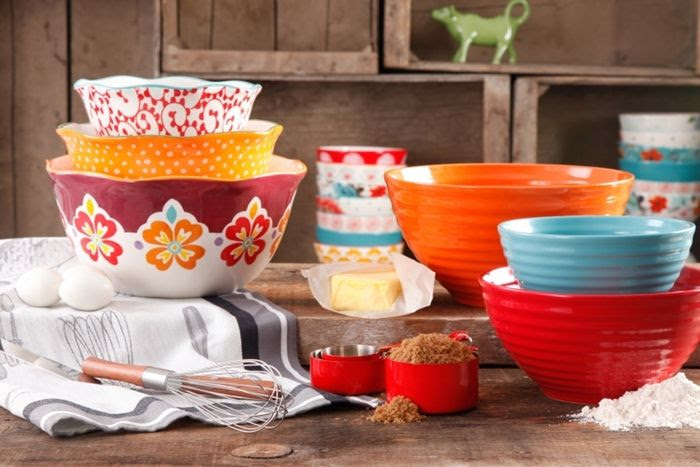 Pioneer Woman Cookware Bowl Set