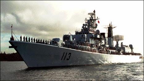 Tàu chiến của Trung Quốc