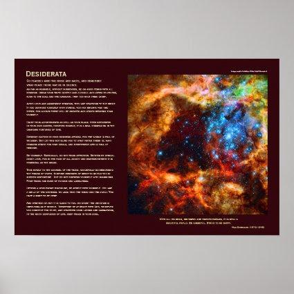 Desiderata - Stellar Nursery in Tarantula Nebula Print