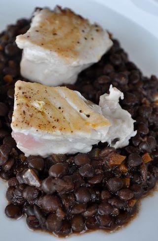 black lentils from Enna / lenticchie nere ennesi