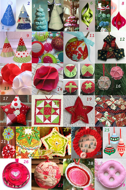 fabric ornaments inspiration part 2