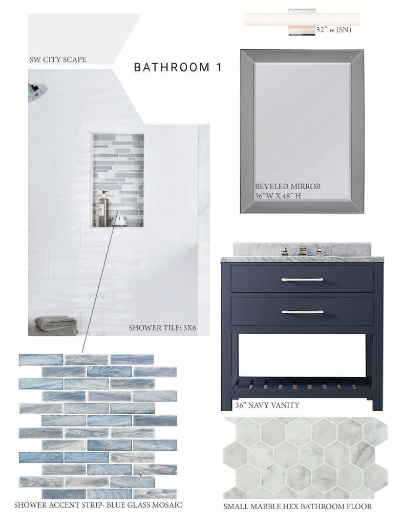 Navy Blue Bathroom Ideas – JLM Designs