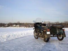 Ural on Lake Josephine