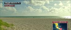 Miami beach deserted ahead of Irma