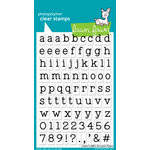 Lawn Fawn - Clear Acrylic Stamps - Clark's ABCs