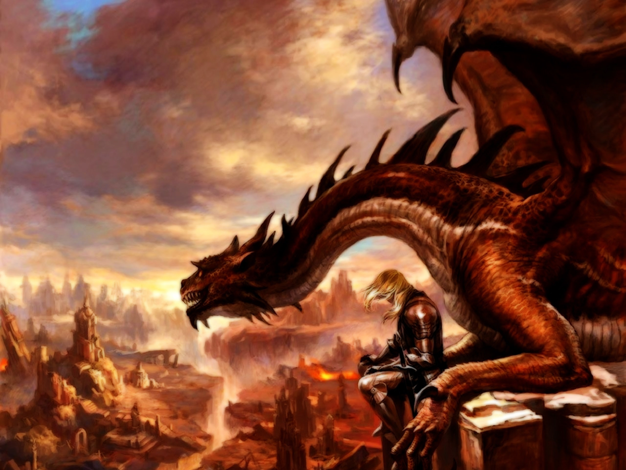 Dragon Fantasy Wallpaper 2560x1920 42306