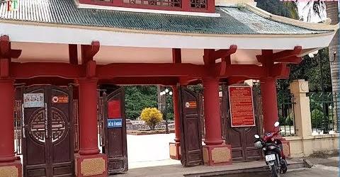 Một đoạn đường đi cửa khẩu Đức Long - Thạch An - Cao Bằng