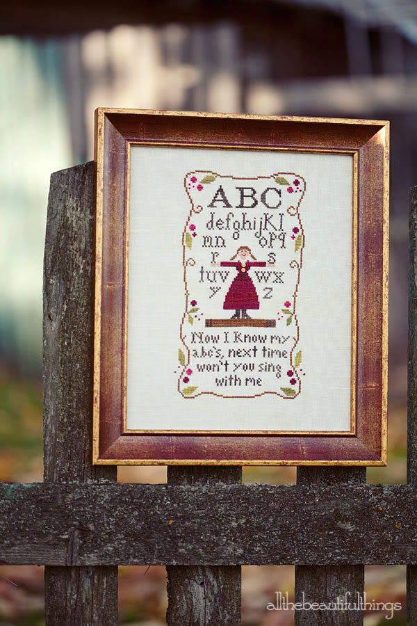 Alphabet Rhyme (Little House Needleworks)