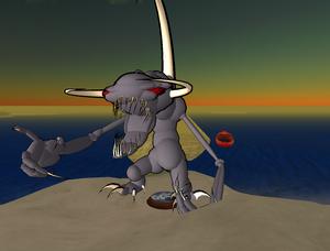 Virtual reality - Second Life - Non-human avatar