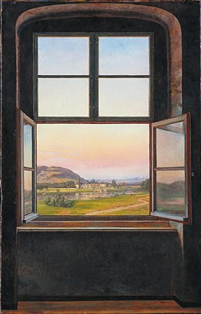 J. C. C. Dahl, Blick auf Schloss Pillnitz