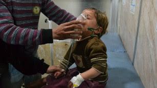 EUA é & # 39; certo & # 39; Síria usaram gás cloro em ataques